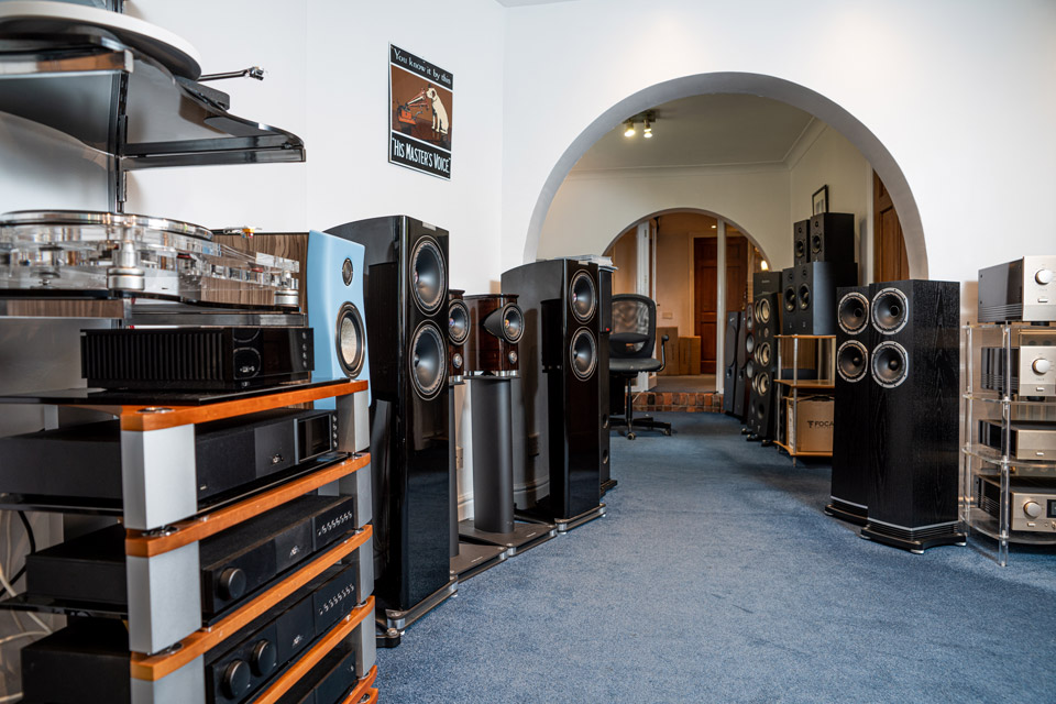 The AudioWorks Showroom