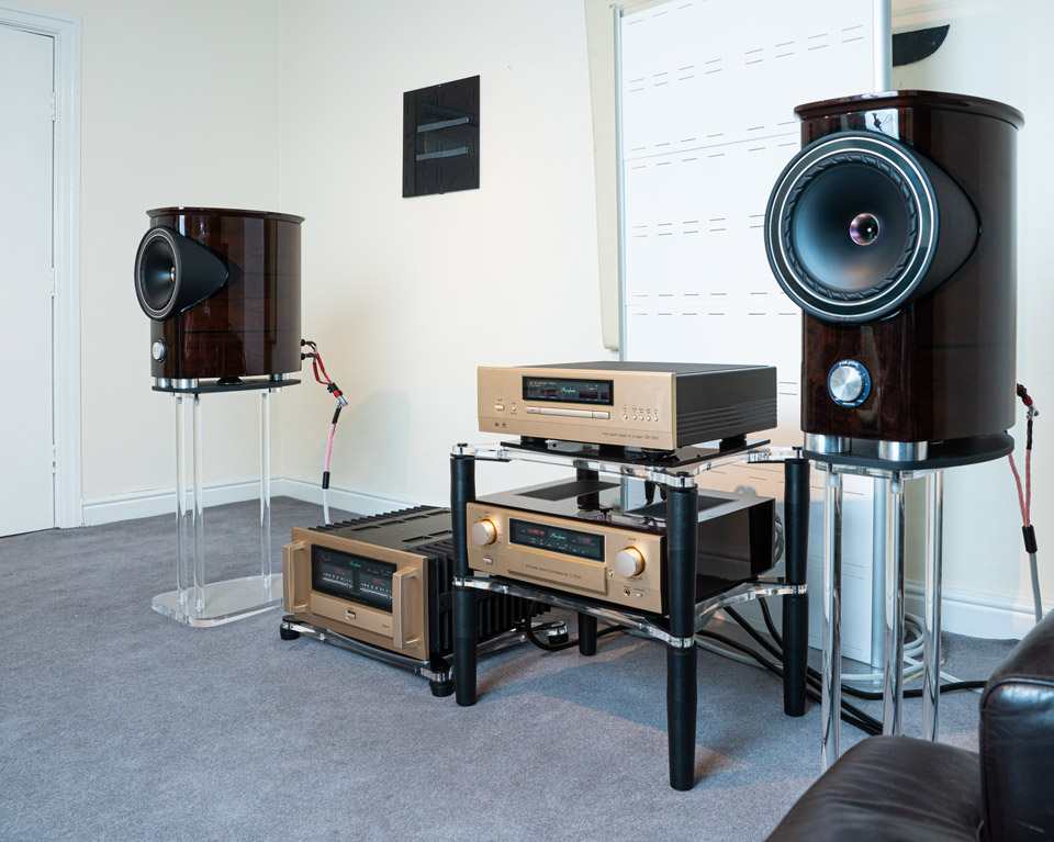 One of The AudioWorks demo rooms